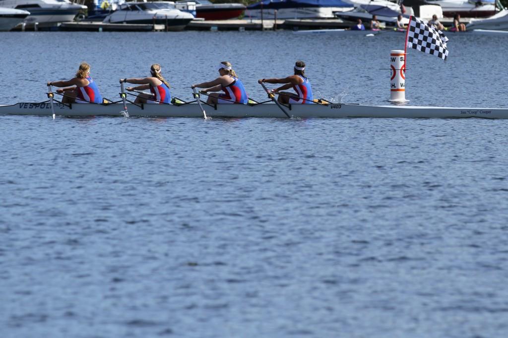 The girls second varsity quad. Photo by Chris Briglin.